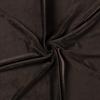 Dark Brown Euro Stretch Velvet Knit