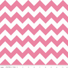 Hollywood Sparkle Medium Chevron Hot Pink by Riley Blake