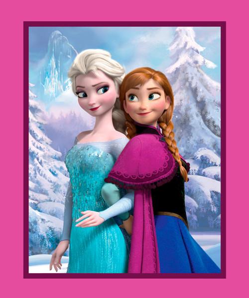 Disney Frozen Sisters Panel