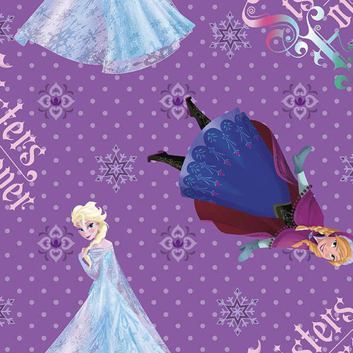 Disney Frozen Sisters Forever Purple by Springs Creative