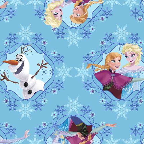 Disney Frozen Ice Skating Toss Blue