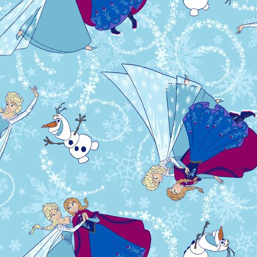 Disney Frozen Ice Skating Glitter Blue