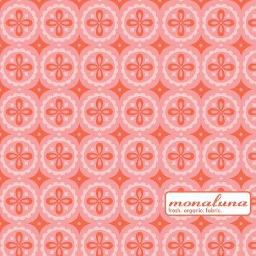 Organic Pinwheel Interlock Knit by Mona Luna