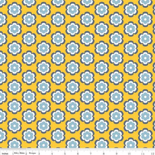Knit Vivid Leilani Marigold by Riley Blake