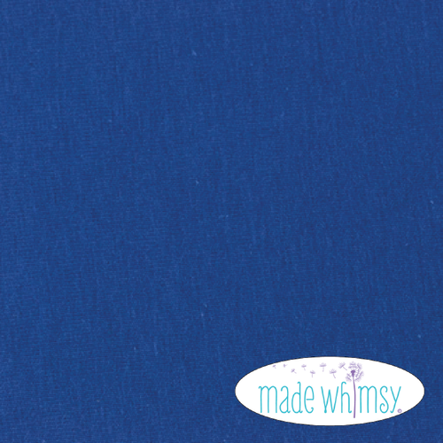 Knit Royal Blue 10oz Solid Knit by Made Whimsy