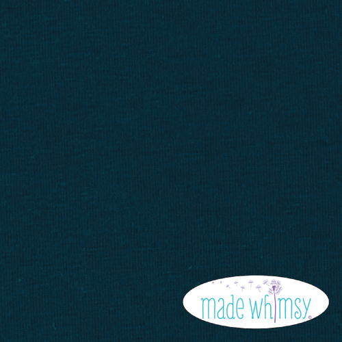 Knit Midnight Navy 12oz Solid by Made Whimsy