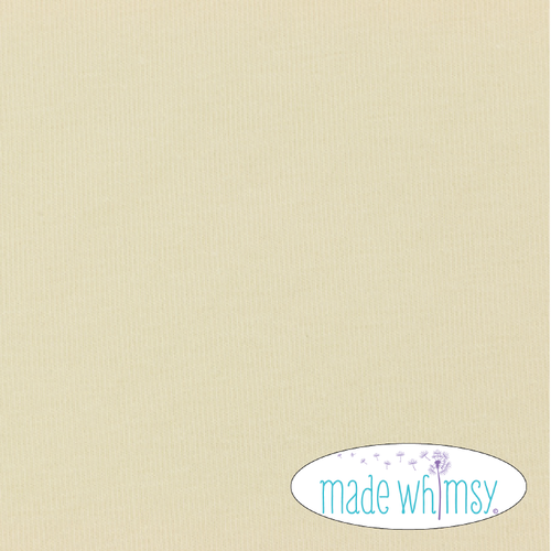 Knit Cream 12oz Solid by Made Whimsy