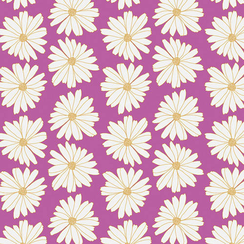 Daisies Lilac Scent by Art Gallery