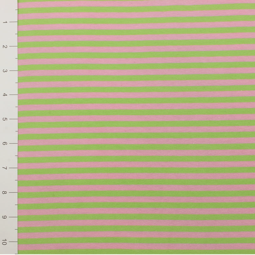 Pink/Lime Yarn Dyed Stripe by Made Whimsy