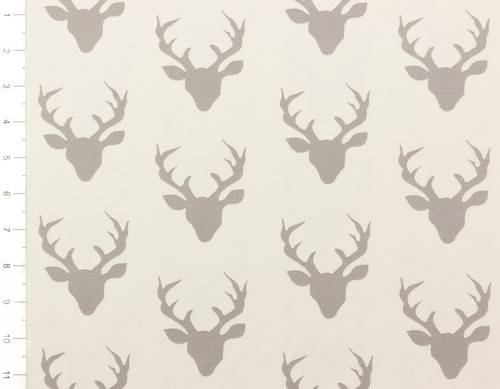Buck Forest Knit Silver by Art Gallery Fabrics