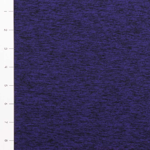 Purple Brushed Poly Athletic Knit
