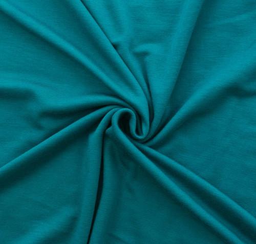 Dark Jade Rayon/Spandex Knit by Made Whimsy