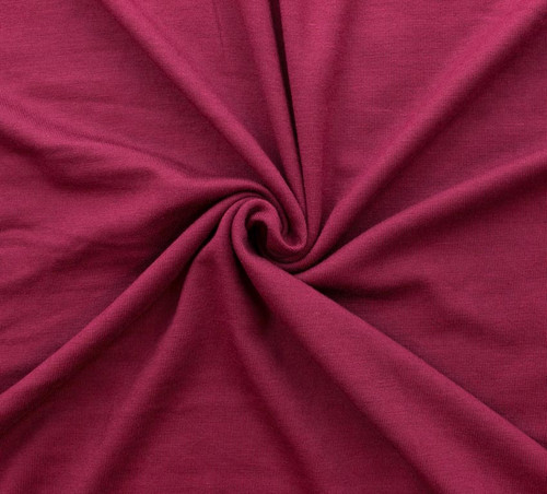 Merlot Rayon/Spandex Knit by Made Whimsy