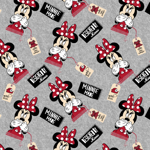 Disney Designed by Minnie Knit by Springs Creative