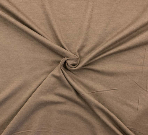 Coffee Rayon/Spandex by Made Whimsy