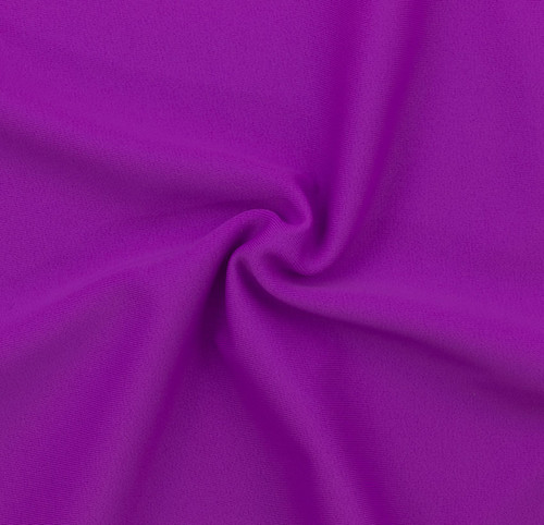 Violet SPF 50 Solid Nylon Spandex Swimsuit/Athletic Fabric