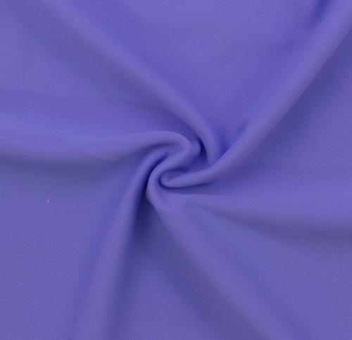 Light Purple SPF 30 Solid Nylon Spandex Swimsuit/Athletic Fabric