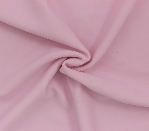 Light Pink SPF 30 Solid Nylon Spandex Swimsuit/Athletic Fabric
