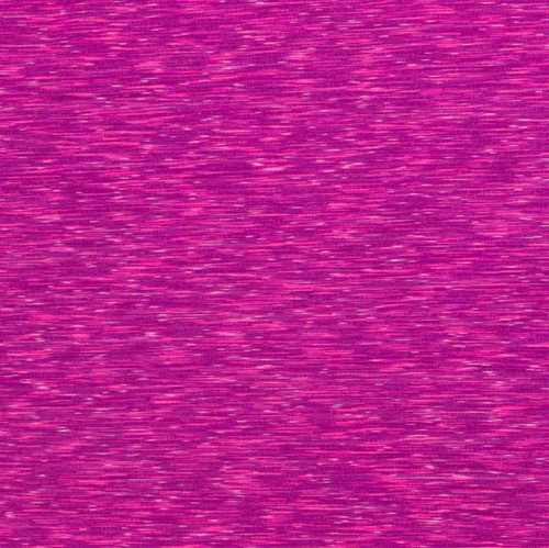 Pink and Violet Space Dye Poly/Spandex Athletic Knit