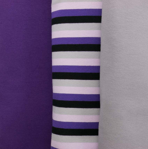 Purple Haze Yarn Dyed Stripes by Made Whimsy