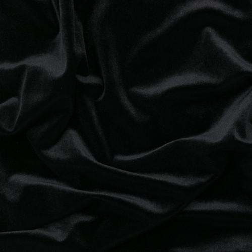 Black Stretch Velvet by Made Whimsy