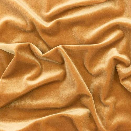 Golden Stretch Velvet by Made Whimsy