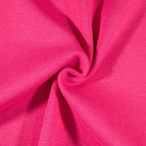 "15"" Tubular Stretch Ribbing Hot Pink by Made Whimsy"