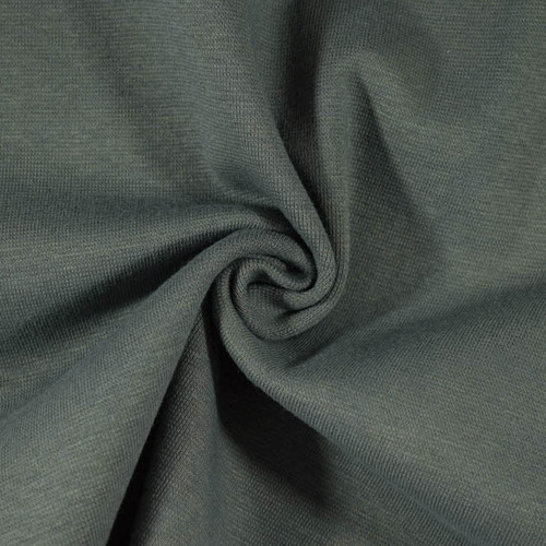 """15"""" Tubular Stretch Ribbing Charcoal Grey by Made Whimsy"""