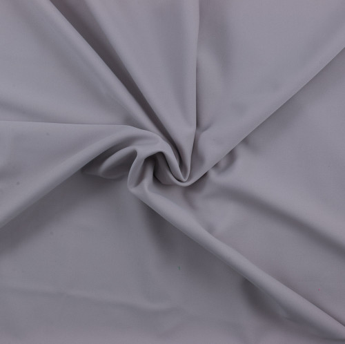 Blushed Grey SPF 30 Solid Nylon Spandex Matte Swim Fabric