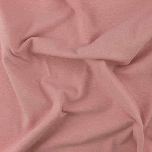 Dusty Pink Medium Weight Knit Solid by Made Whimsy