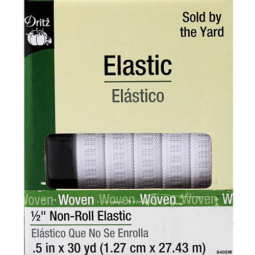 "Non-Roll 1/2"" Elastic by Dritz"