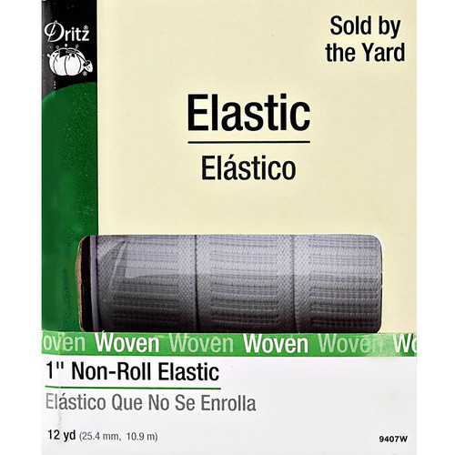 """Non-Roll 1"""" Elastic by Dritz"""