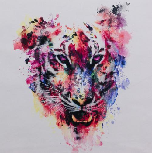 Pre-Order Amazing Watercolor Tiger Panel by Riza Peker