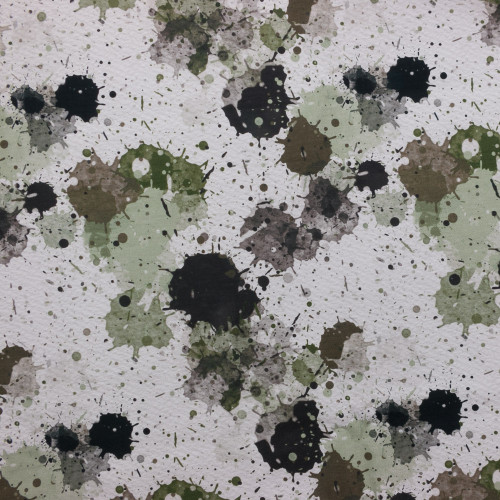Camo Splatter by ClarkMade for Made Whimsy