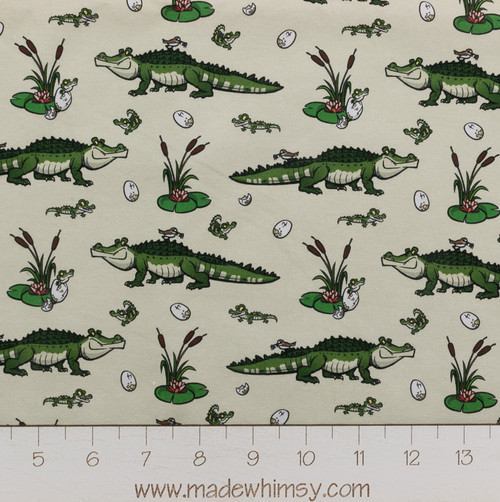 Pre-Order Baby Gators Designed by Steve Rampton for Made Whimsy