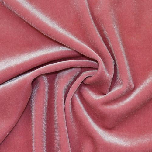 Dusty Rose Stretch Velvet by Made Whimsy