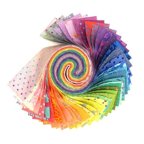 Pre-Order: True Colors Pre-cut Strip Roll by Tula Pink