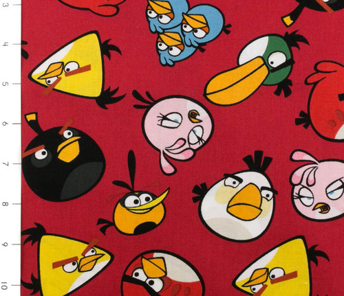Angry Birds Toss Red