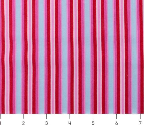 Candy Bloom Multi Pink Stripe by Ella Blue