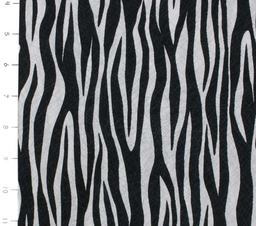 Amboseli Zebra Print by Quilting Treasures