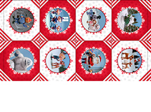 Rudolph Story Scene Panel by Quilting Treasures