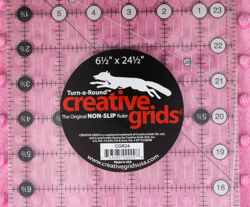 """Creative Grids Ruler 6-1/2"""" x 24-1/2"""""""