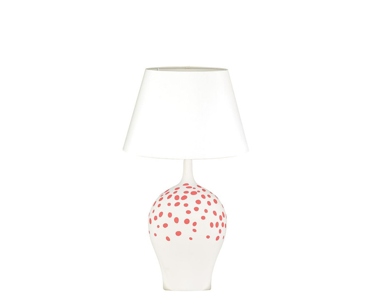 Angelica Table Lamp Rouge