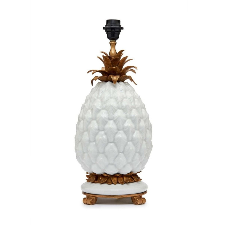 Ananas' Pineapple Lampstand - Off White