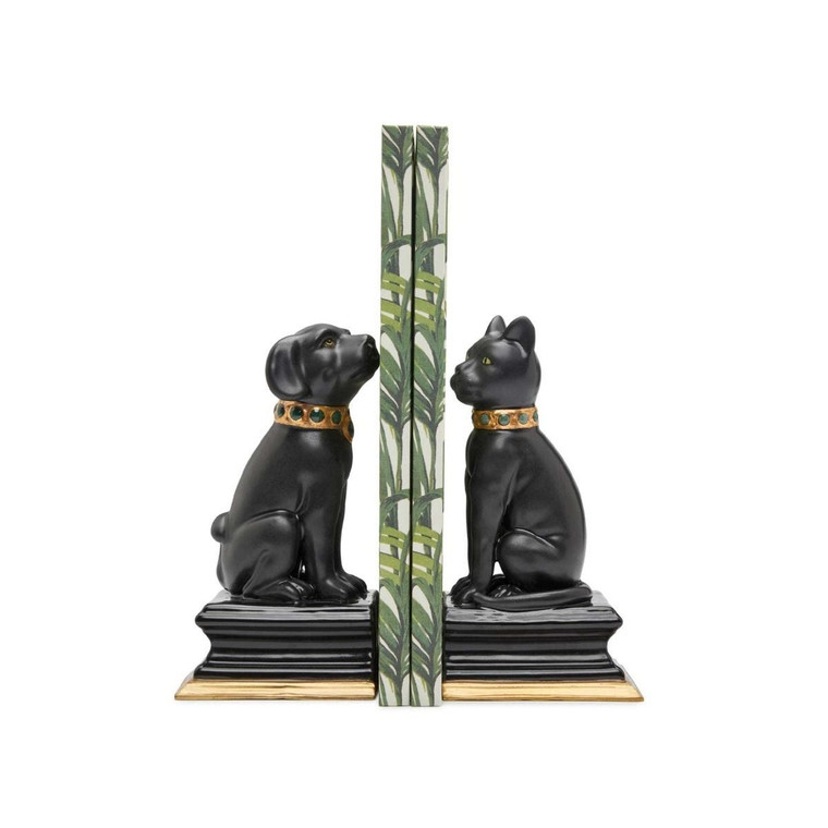 Cat & Dog Bookends