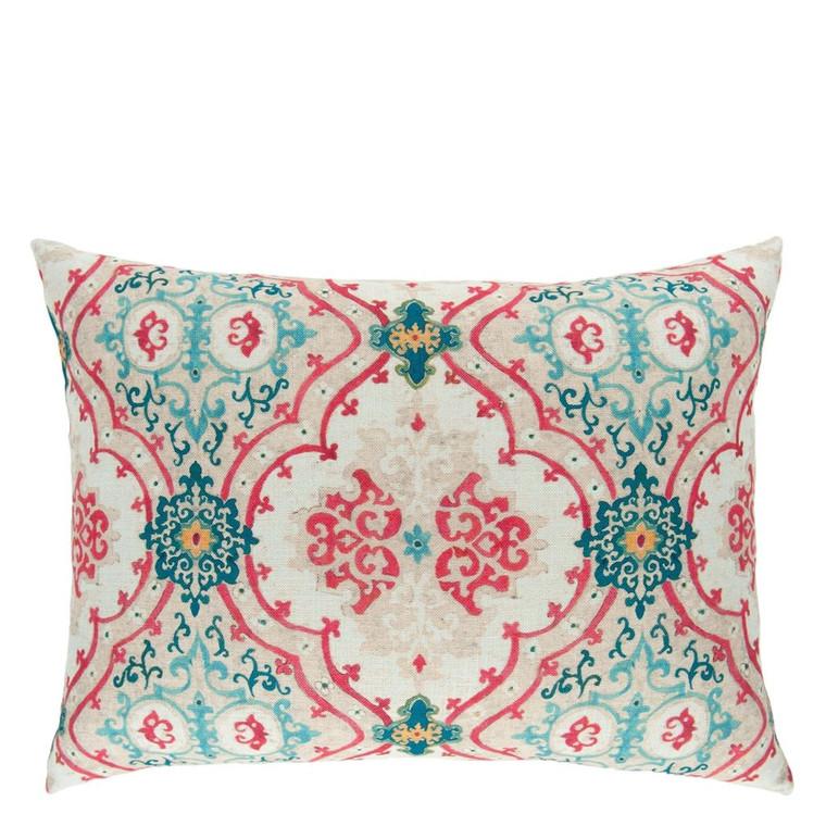 Valetta Peacock cushion