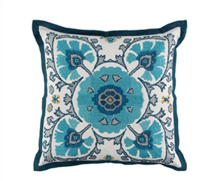 Alexi Peacock cushion