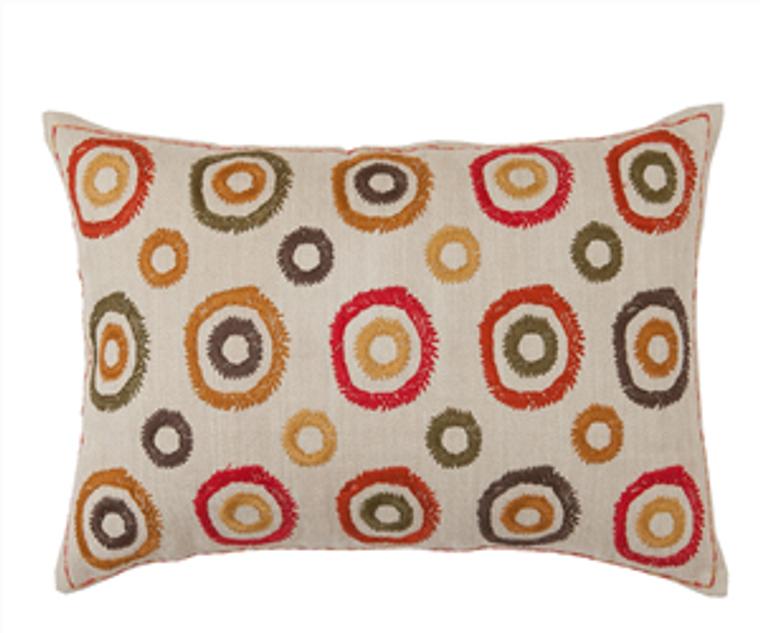 Zafora Ochre cushion