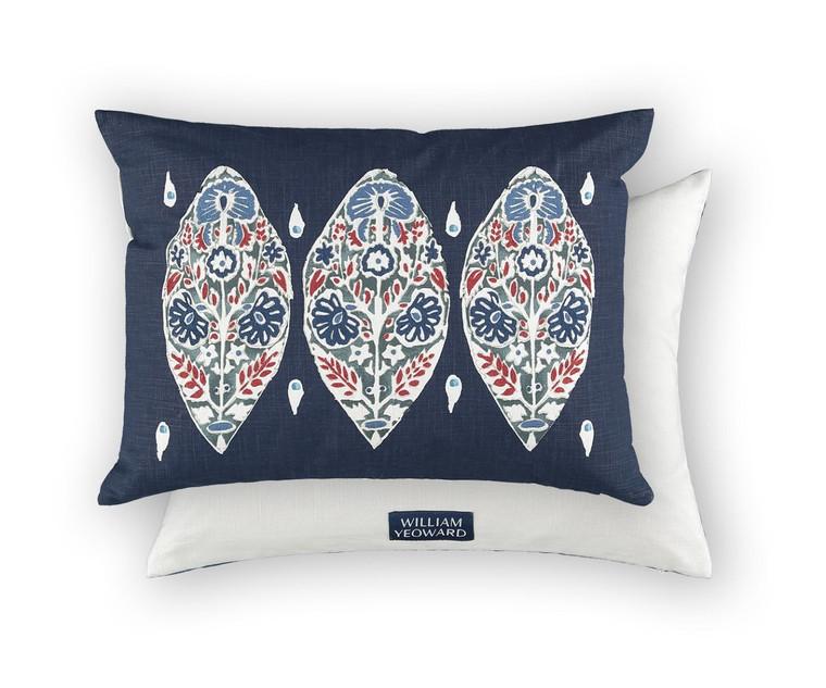 Flores Rouge cushion