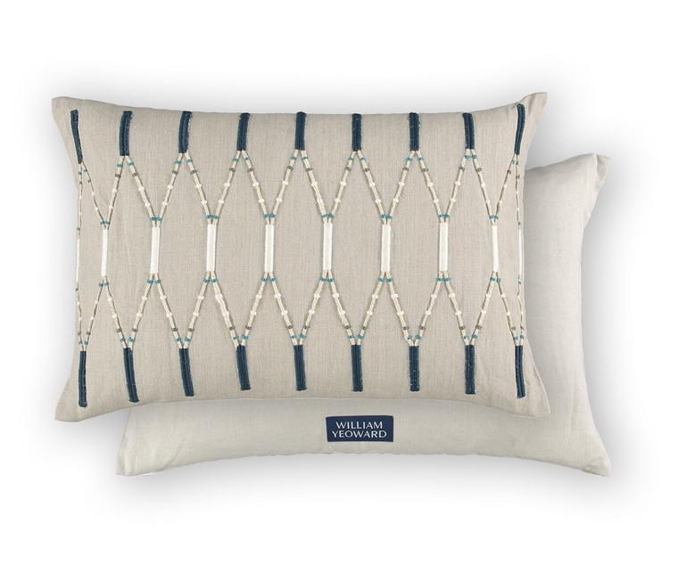 Lima Indigo cushion